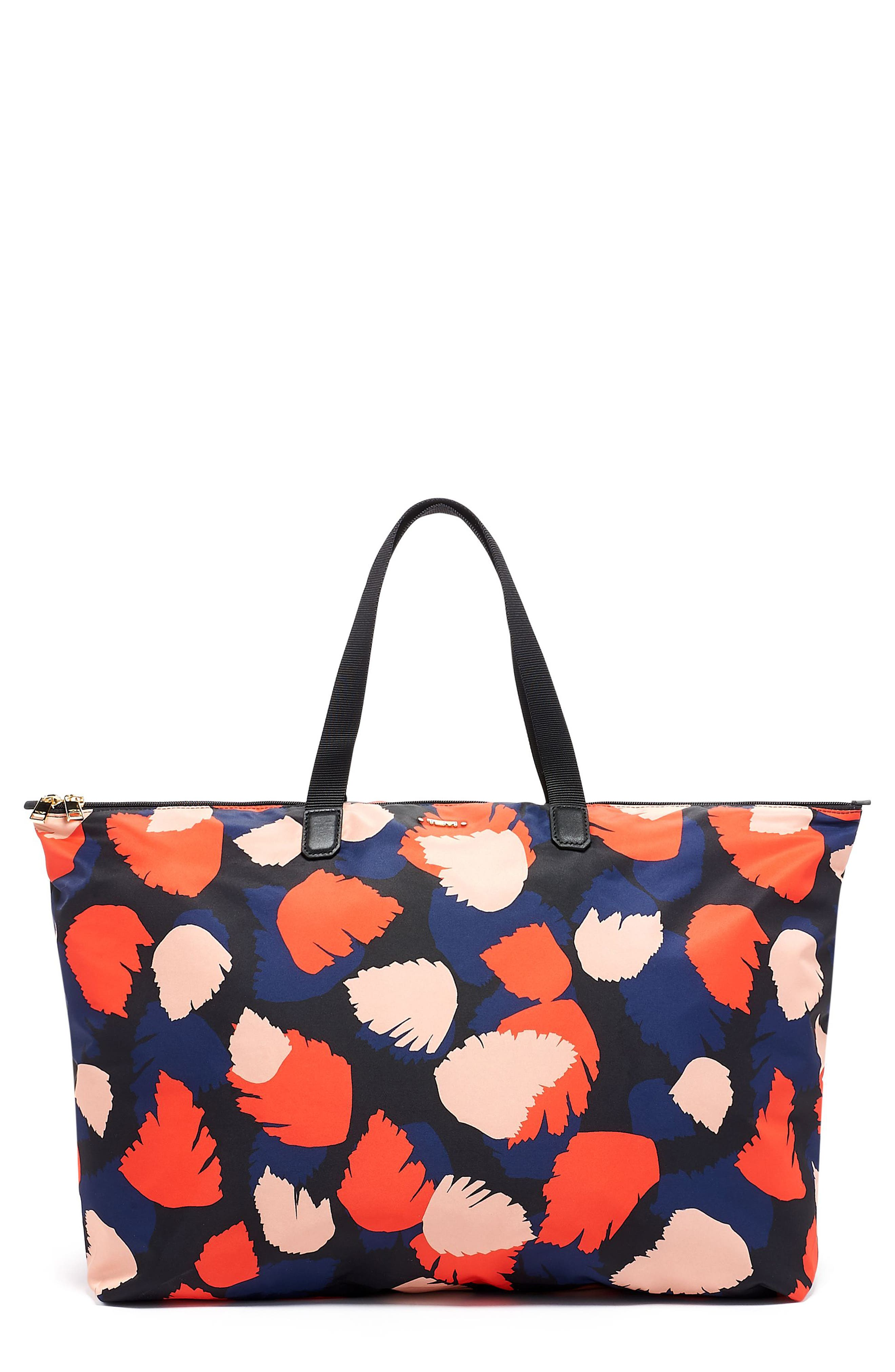 ,                             Voyageur - Just in Case<sup>®</sup> Nylon Travel Tote,                             Main thumbnail 1, color,                             CONGO MULTI PRINT