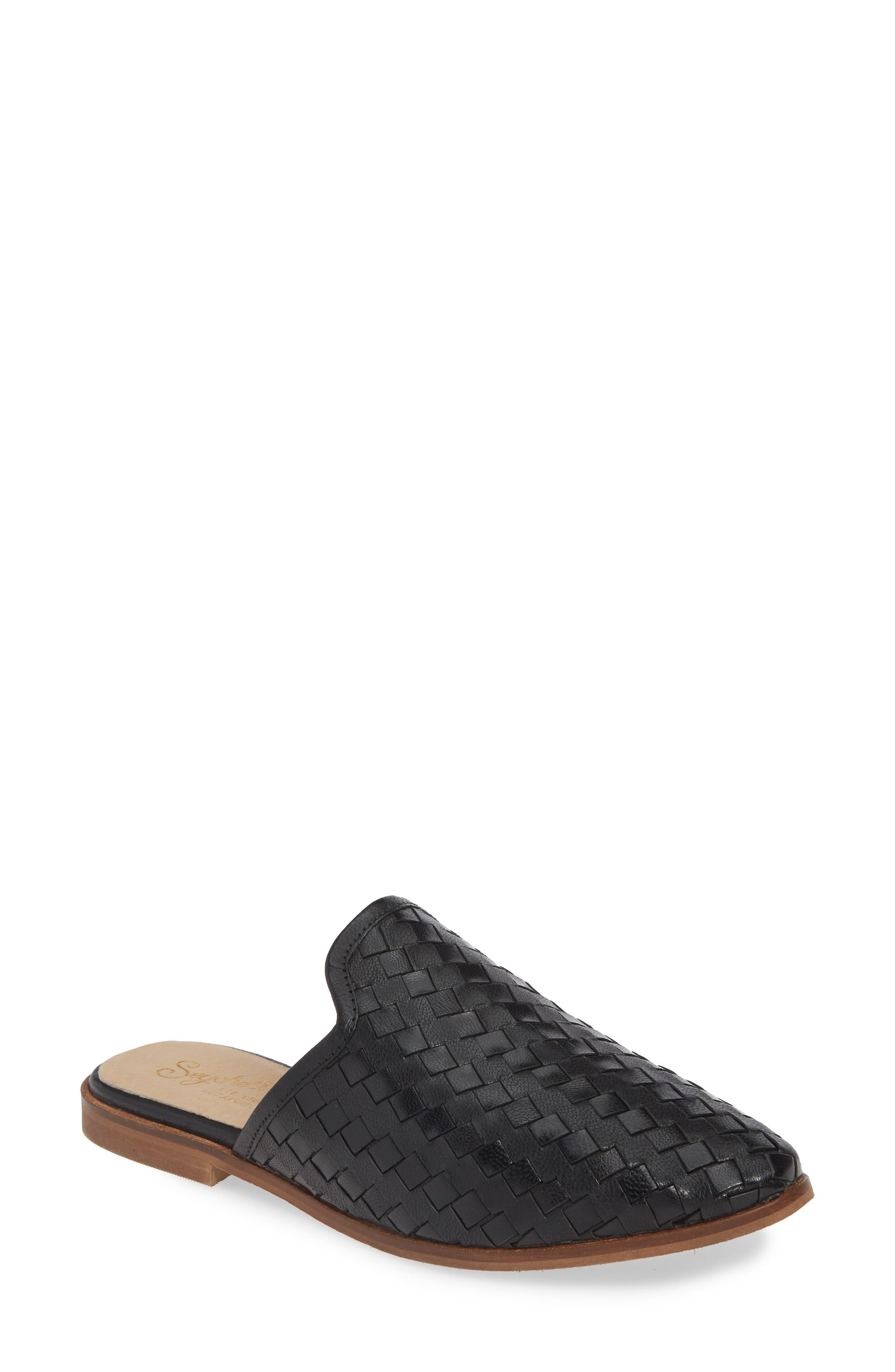 Seychelles Knickknack Woven Loafer Mule, Black