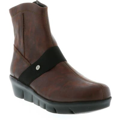 Wolky Omni Wedge Bootie, Brown