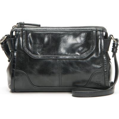 Frye Mel Leather Crossbody Bag - Black