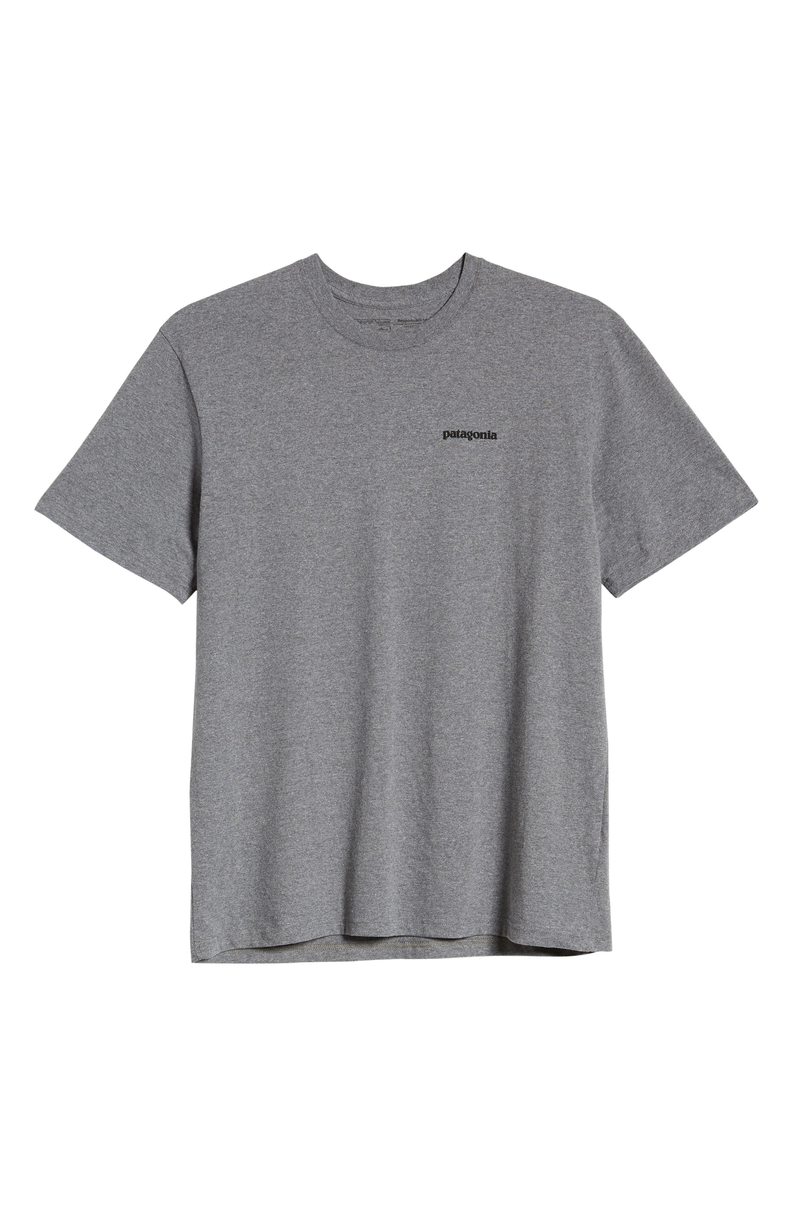 ,                             Fitz Roy Bison Responsibili-Tee T-Shirt,                             Alternate thumbnail 6, color,                             GRAVEL HEATHER
