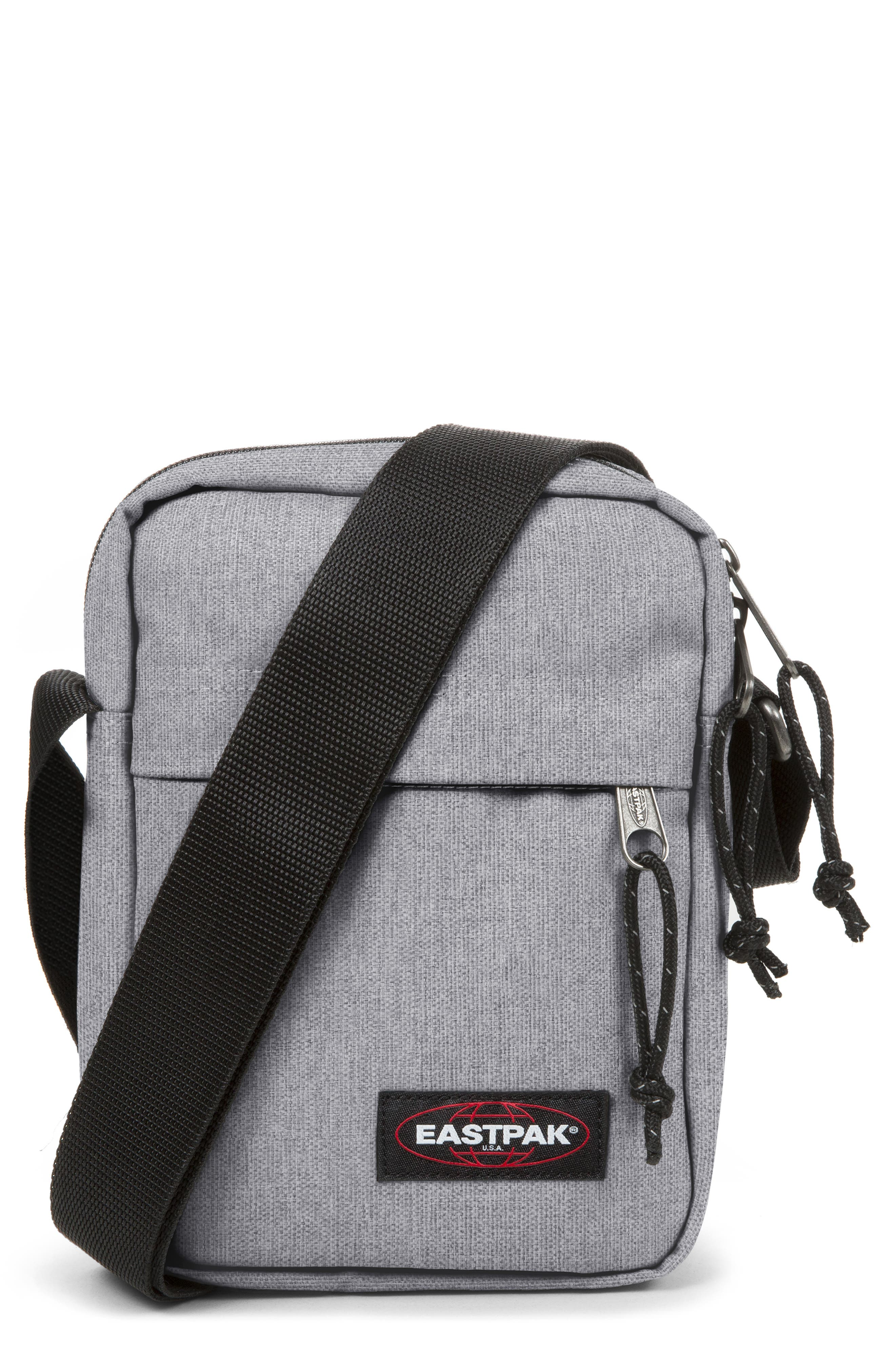 The One Nylon Crossbody Bag, Main, color, SUNDAY GREY