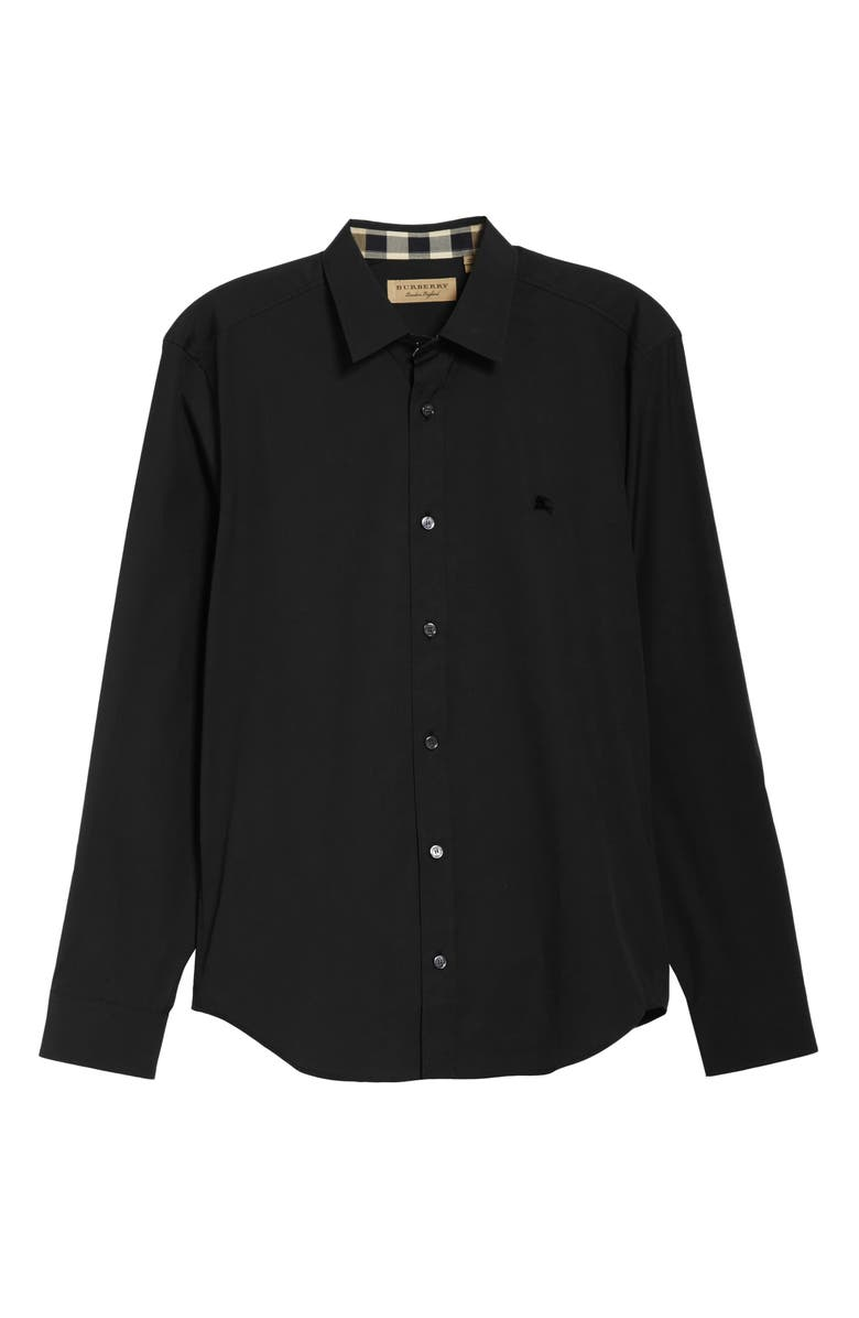BURBERRY Cambridge Aboyd Sport Shirt, Main, color, 001