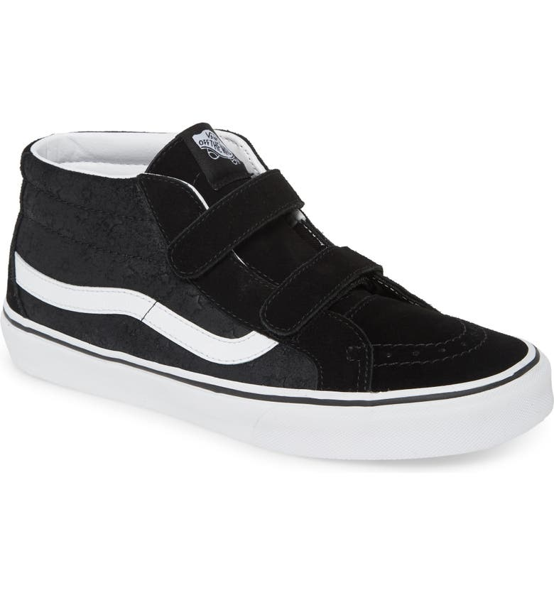 VANS Sk8-Mid Reissue Sneaker, Main, color, STARS/ BLACK