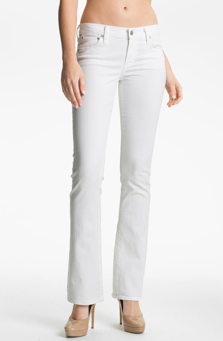 CITIZENS OF HUMANITY 'Emmanuelle' Slim Bootcut Jeans, Main, color, 100