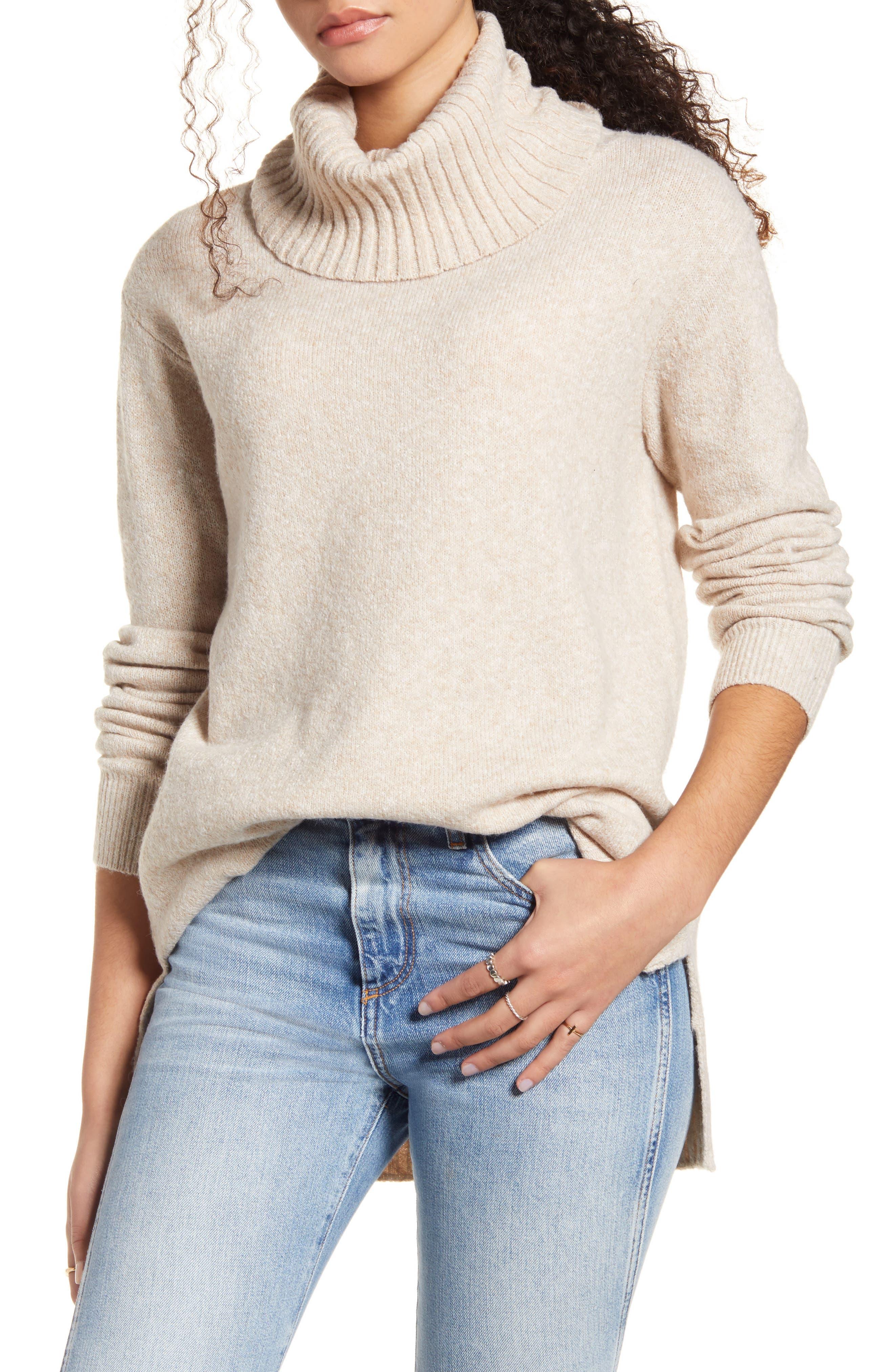 BP. Longline Turtleneck Sweater