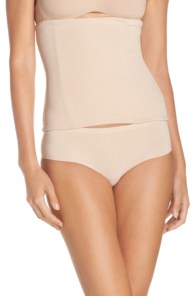 TC Waist Cincher, Main, color, NUDE
