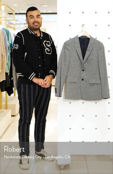 Gansevoort Slub Linen Blend Sport Coat, sales video thumbnail