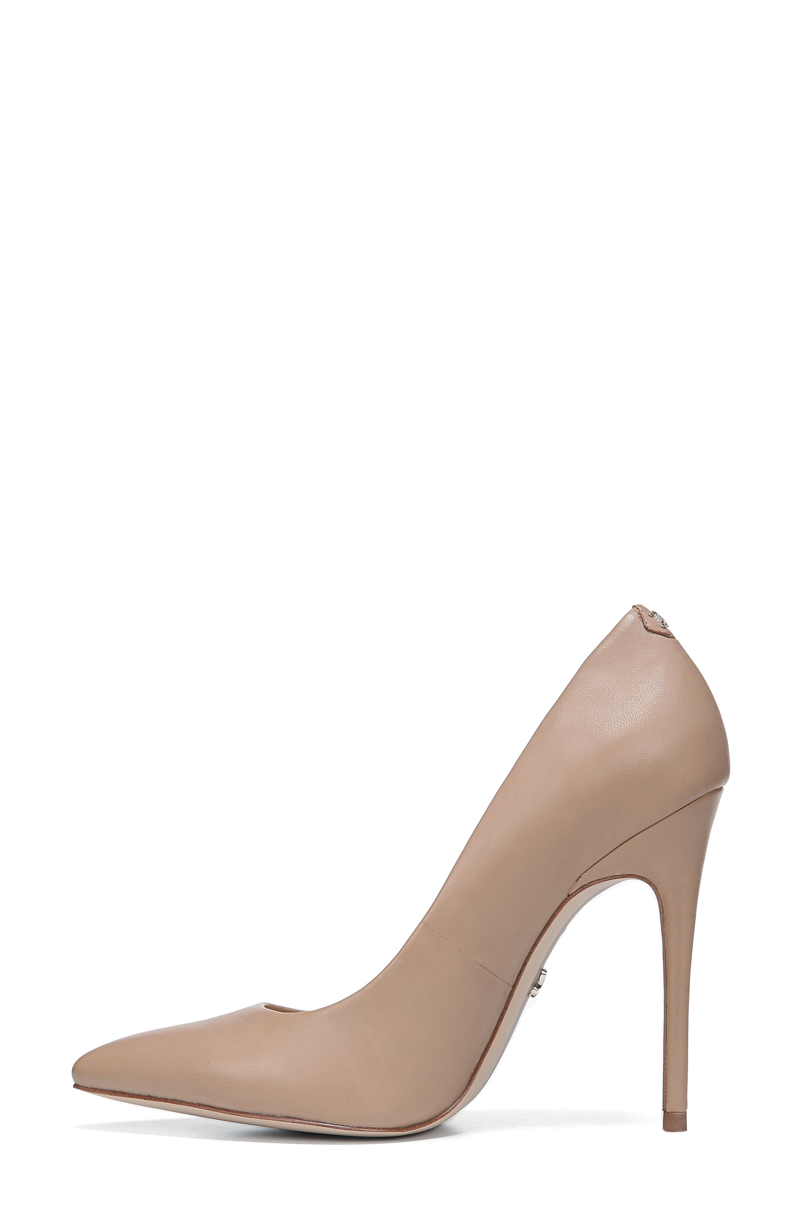 ,                             Danna Pointy Toe Pump,                             Alternate thumbnail 8, color,                             CLASSIC NUDE LEATHER