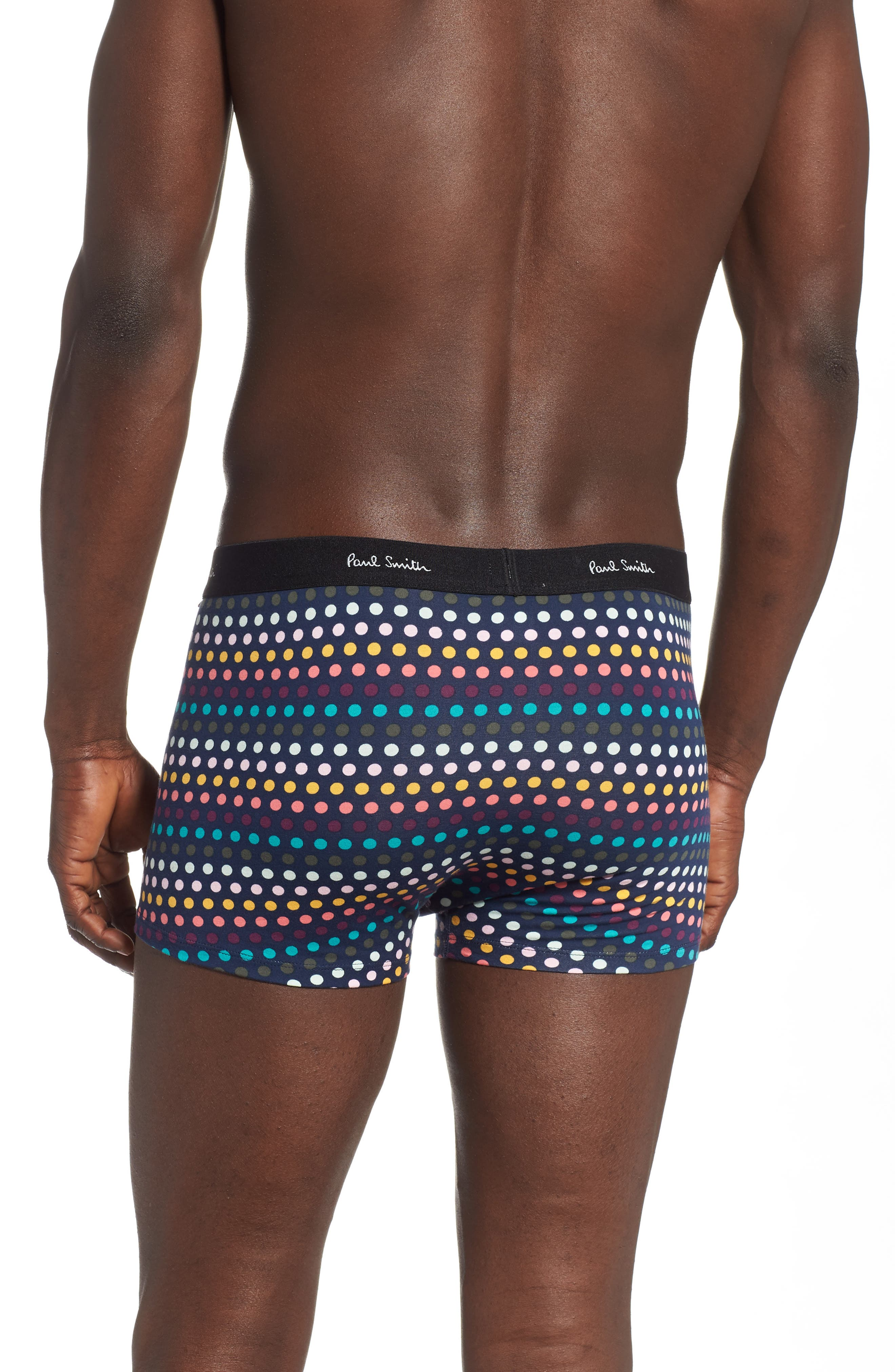,                             Cotton Trunks,                             Alternate thumbnail 2, color,                             RED