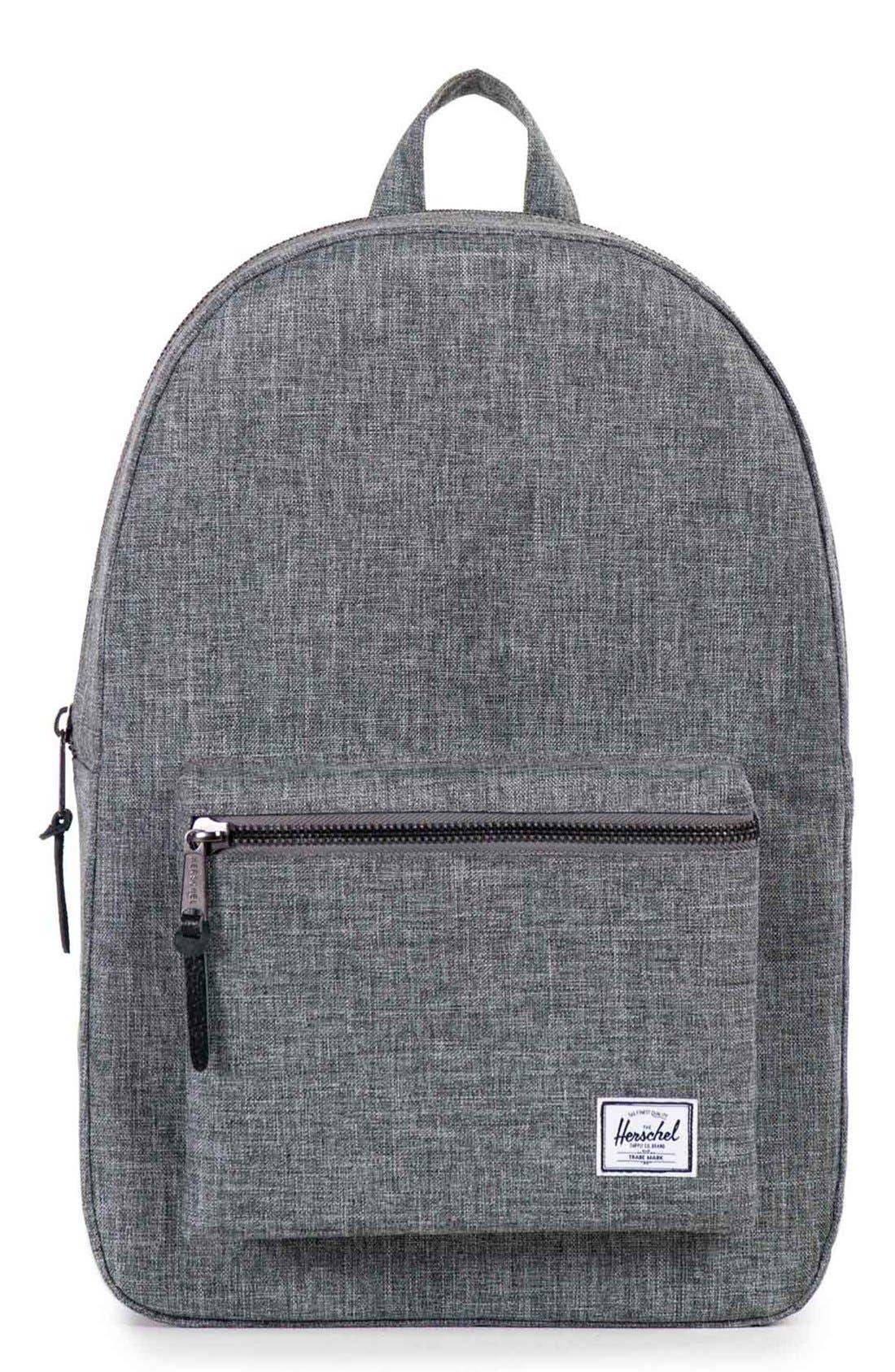 1b5df720d3 UPC 828432082407 - Herschel Supply Co. Settlement Backpack, Raven ...