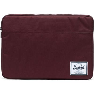 Herschel Supply Co. Anchor 15-Inch Macbook Sleeve - Purple