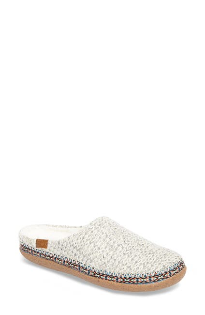 Image of TOMS Ivy Faux Shearling Lined Mule Slipper