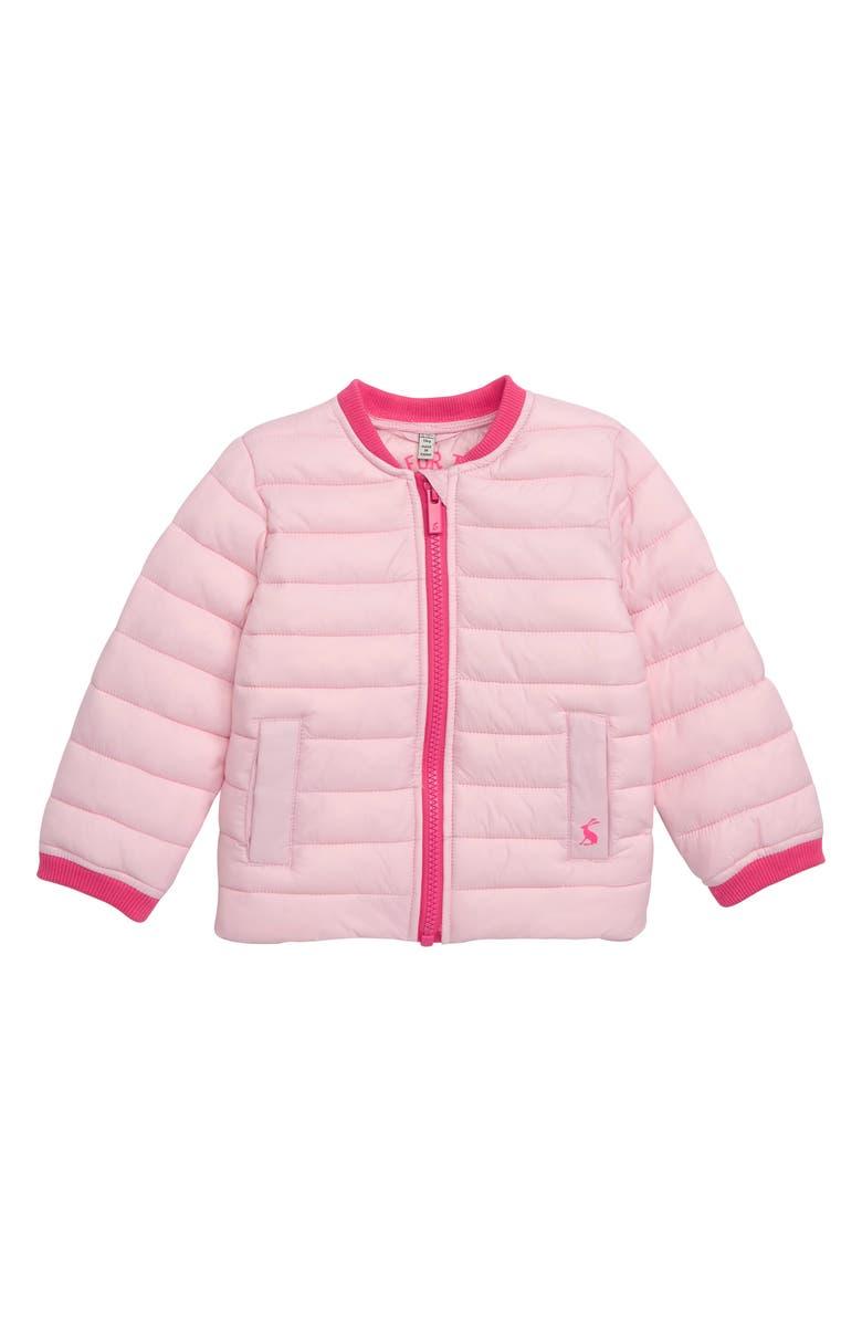 JOULES Reba Puffer Coat, Main, color, ICE PINK