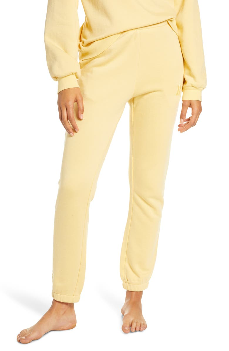 RAGDOLL Lounge Jogger Pants, Main, color, YELLOW