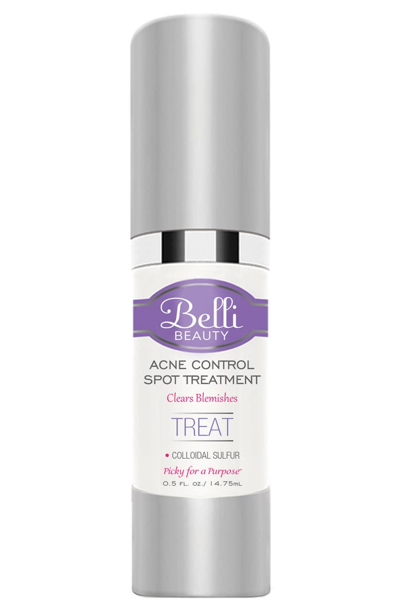 BELLI SKINCARE MATERNITY Acne Control Spot Treatment, Main, color, WHITE