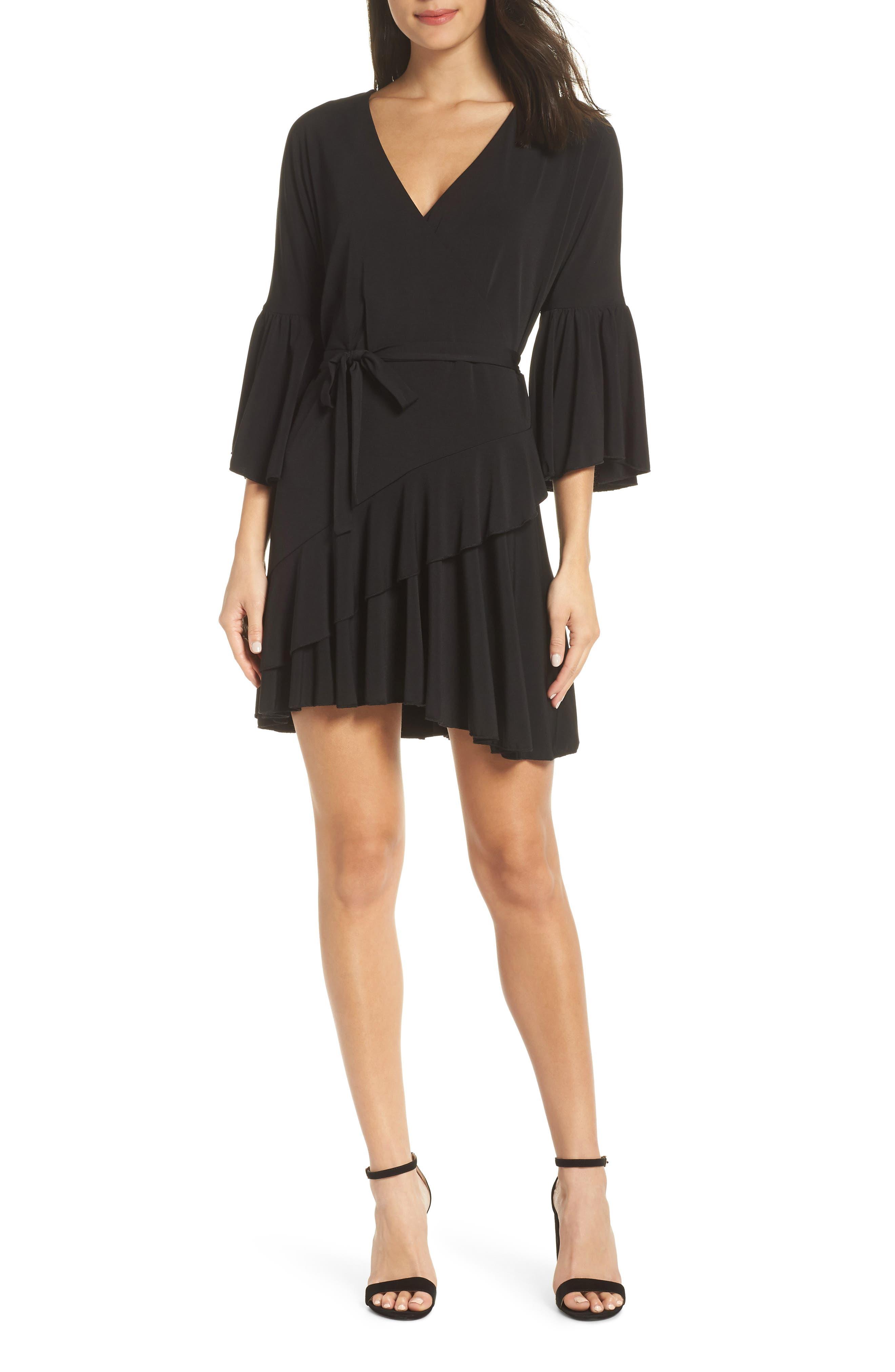 French Connection Ellette Dress, Black