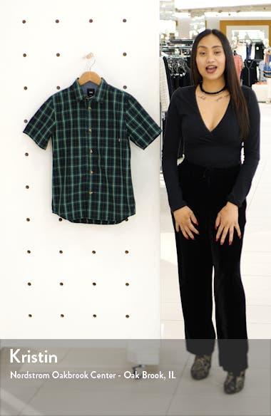 Rockwood Plaid Woven Shirt, sales video thumbnail