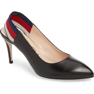 Gucci Slingback Pump, Black