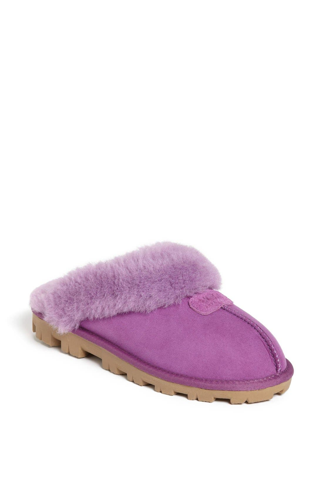 ,                             Genuine Shearling Slipper,                             Main thumbnail 134, color,                             517