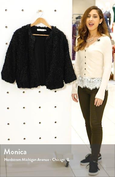 Bolero Faux Fur Jacket, sales video thumbnail