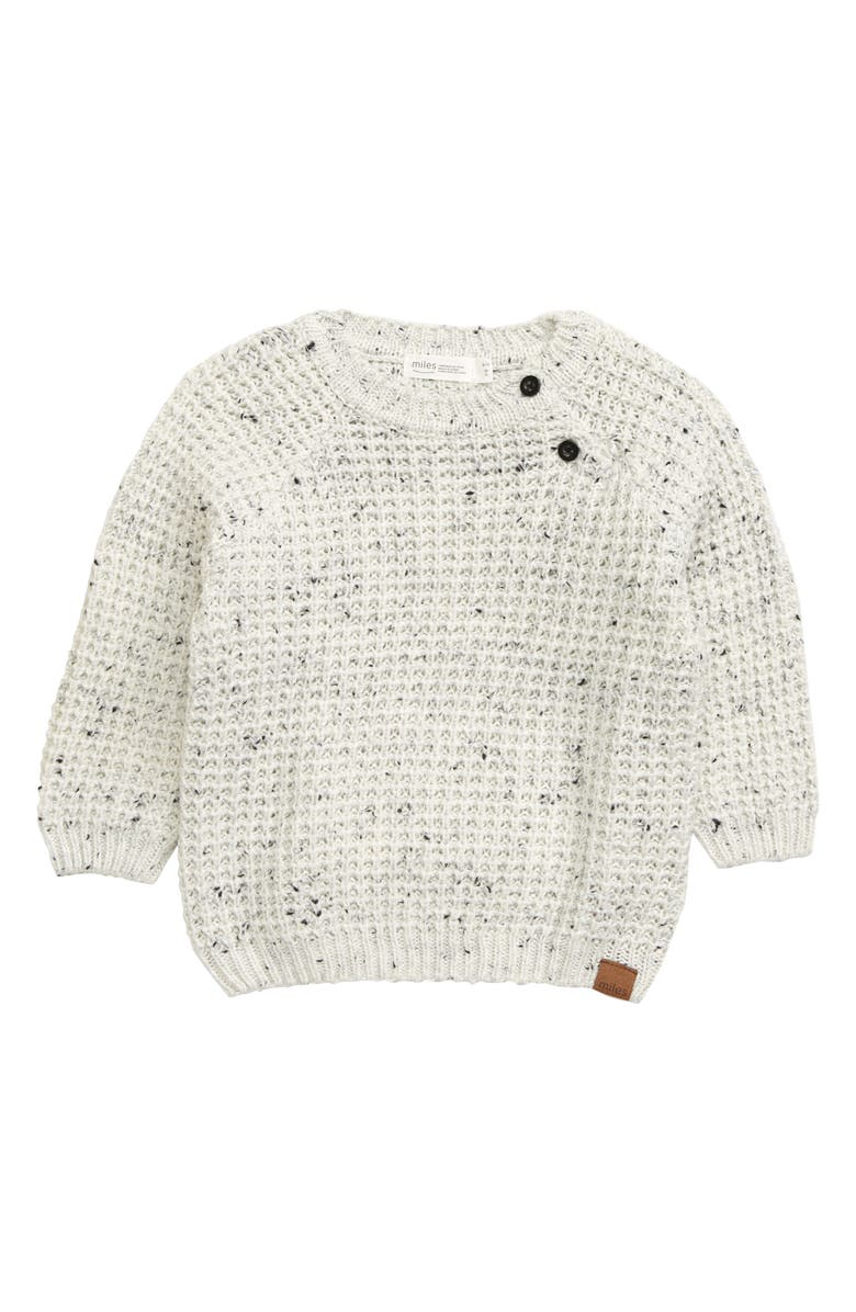 MILES BABY Marled Sweater, Main, color, 901