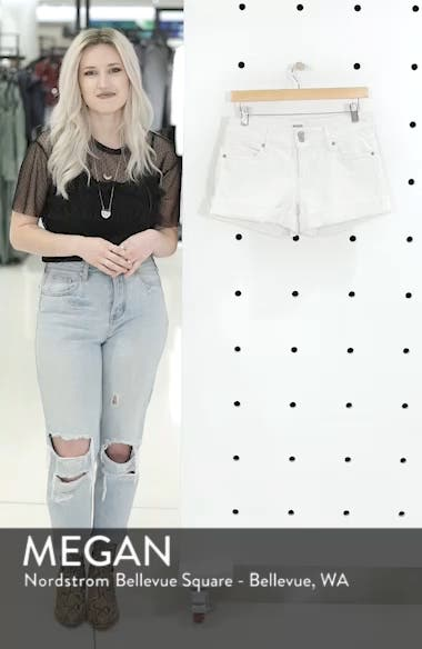 Croxley Cuff Denim Shorts, sales video thumbnail