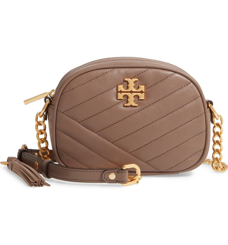 TORY BURCH Kira Camera Bag, Main, color, CLASSIC TAUPE