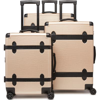 Calpak Pullman 3-Piece Spinner Luggage Set - Beige