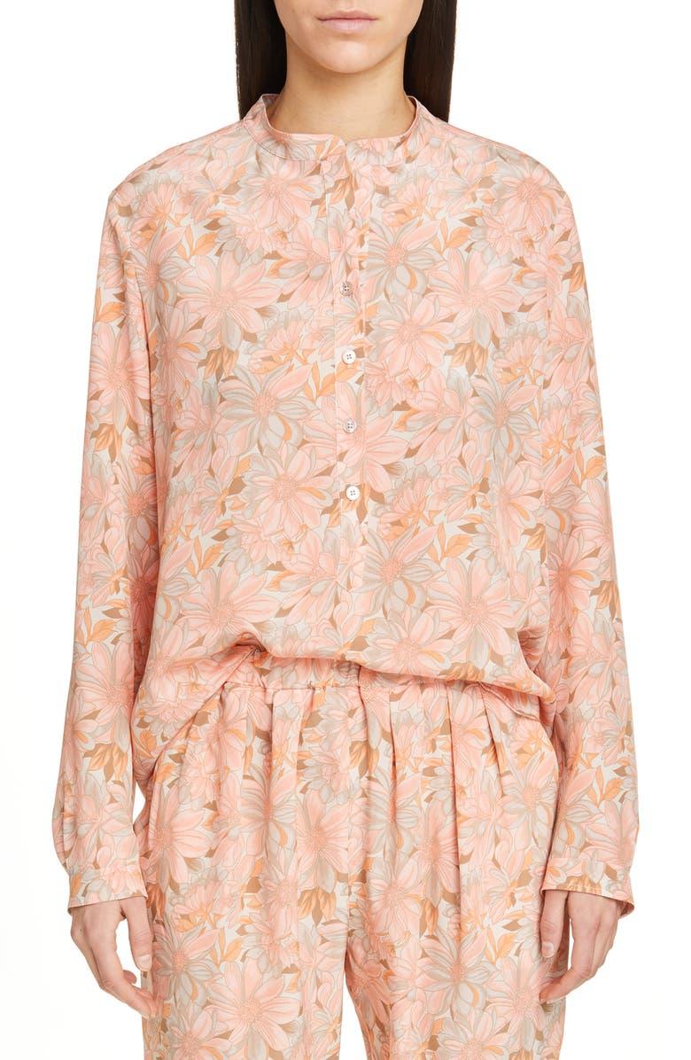 4d1e3ad59ca88 Stella McCartney Floral Print Silk Blouse | Nordstrom