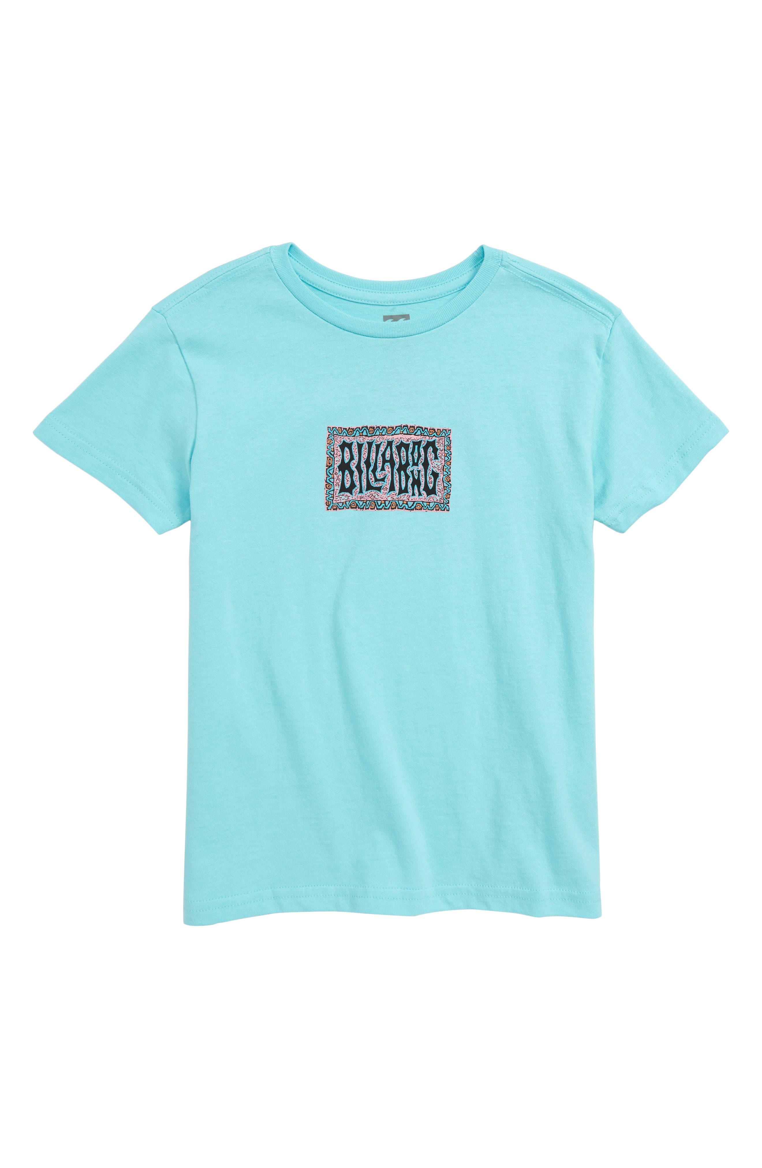 Warp Graphic T-Shirt, Main, color, SPEARMINT