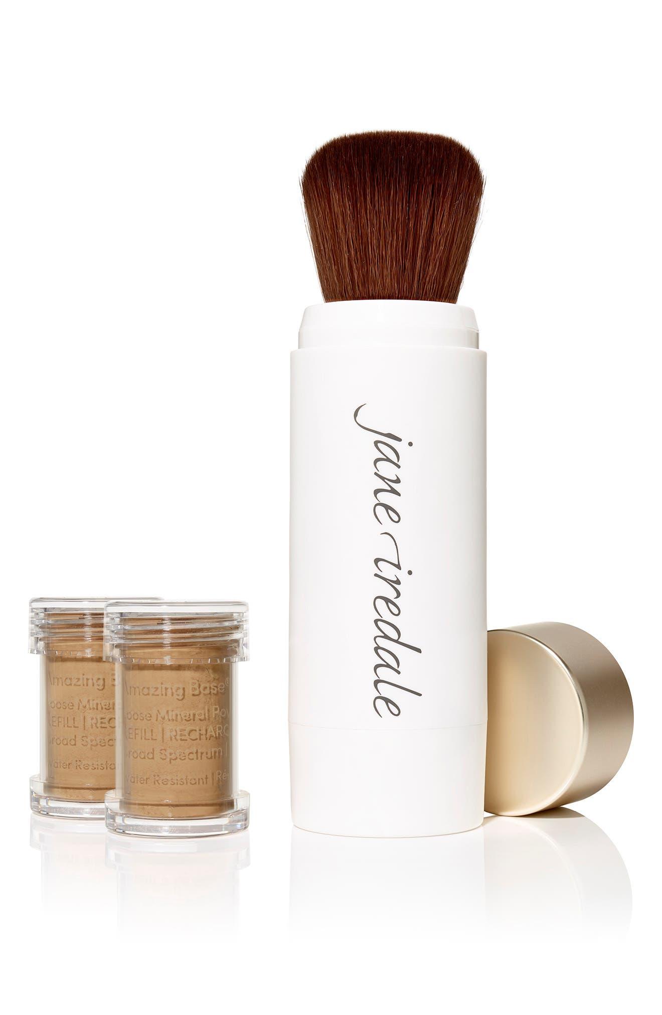 Amazing Base Loose Mineral Powder Spf 20 Refillable Brush