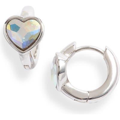 Olivia Burton Heart Huggie Hoop Earrings