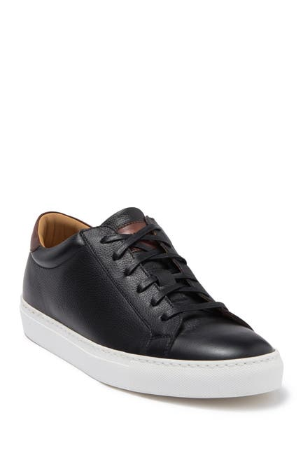 Image of To Boot New York Devin Leather Sneaker