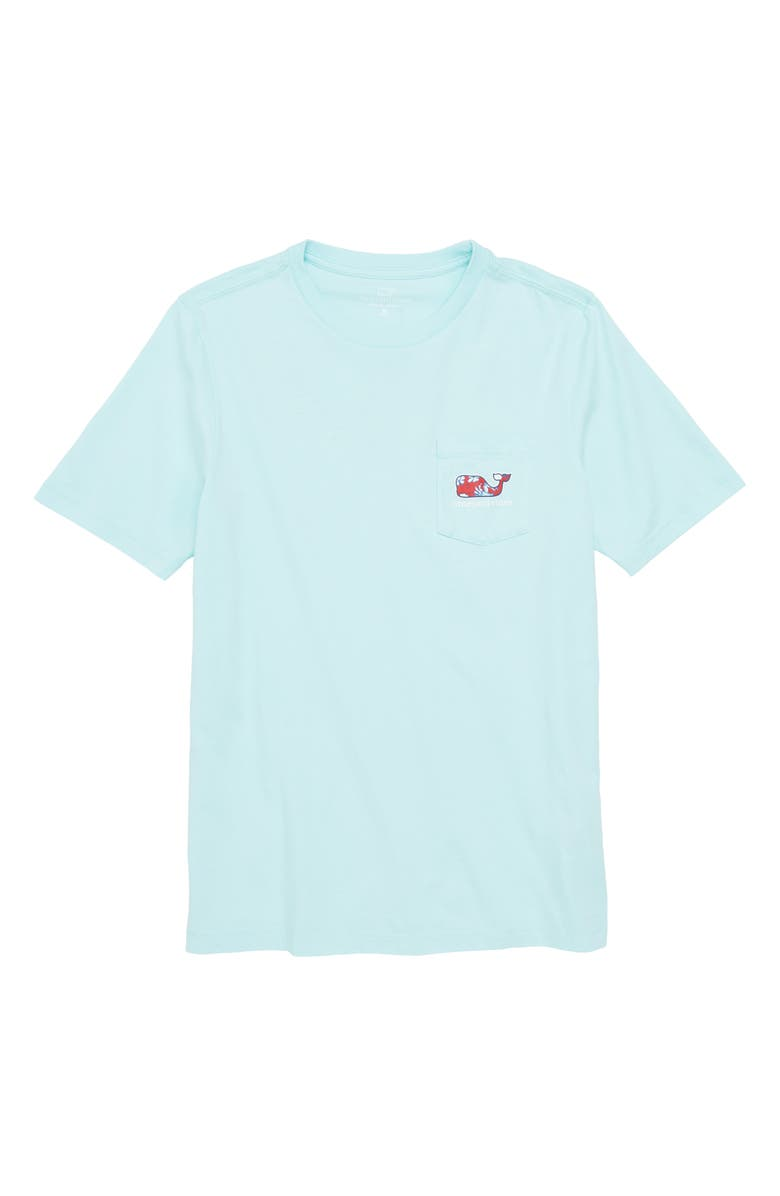 5c82ddbc vineyard vines Crab & Flower Whale Pocket T-Shirt (Toddler Boys ...