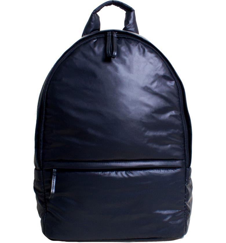 CARAA Stratus Waterproof Backpack, Main, color, NAVY