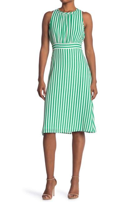 Image of TASH + SOPHIE Stripe Sleeveless Dress