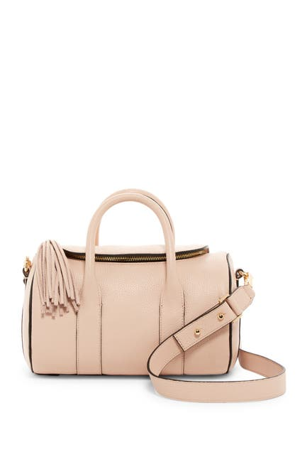 Image of MILLY Astor Leather Duffle