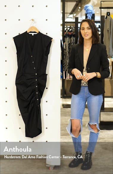 Ruched Shirtdress, sales video thumbnail