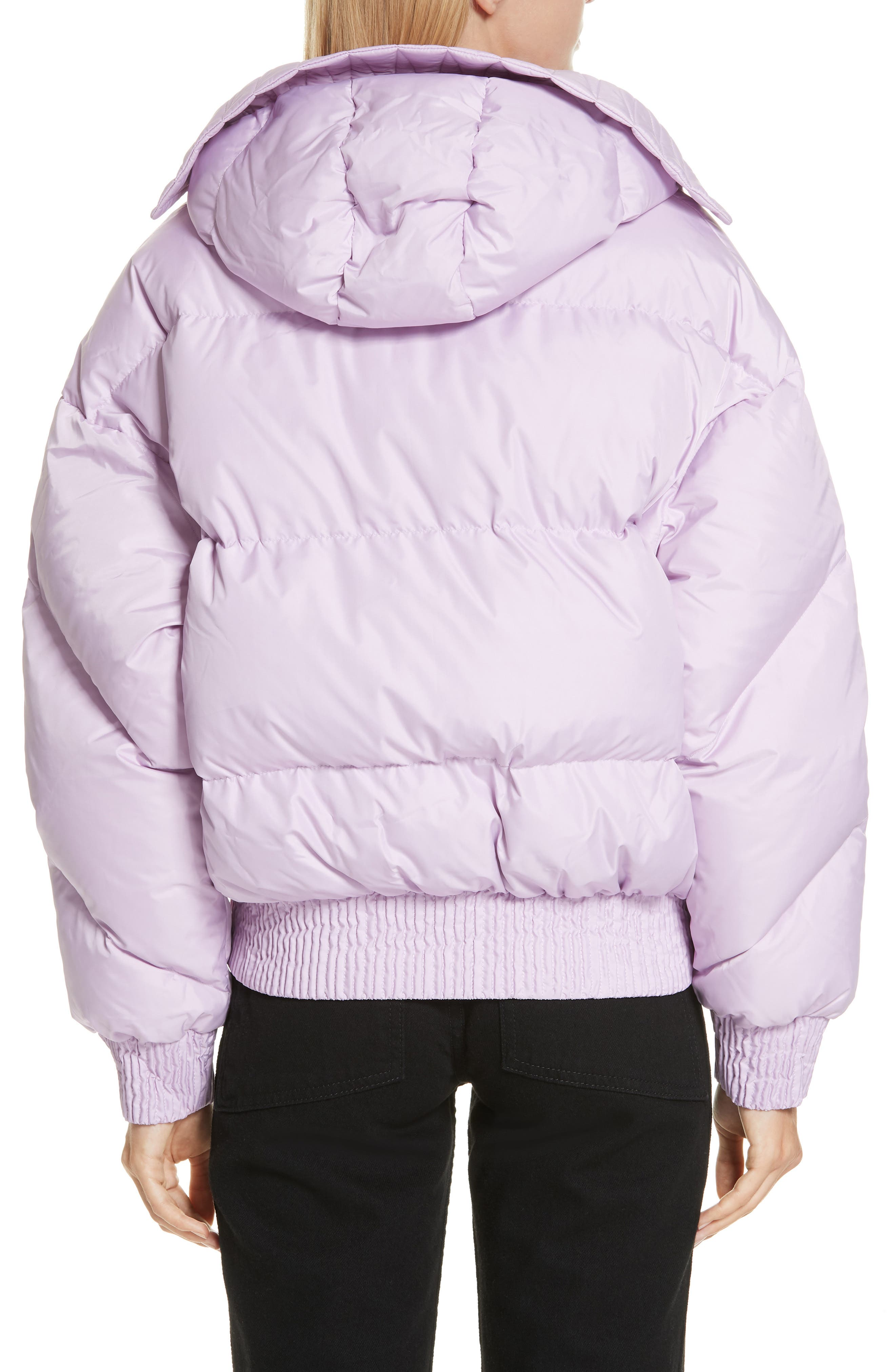 ,                             Dunlope Hooded Down Puffer Coat,                             Alternate thumbnail 2, color,                             MAURI CRISTAL
