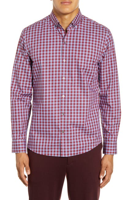 Image of Zachary Prell Lee Gingham Regular Fit Shirt