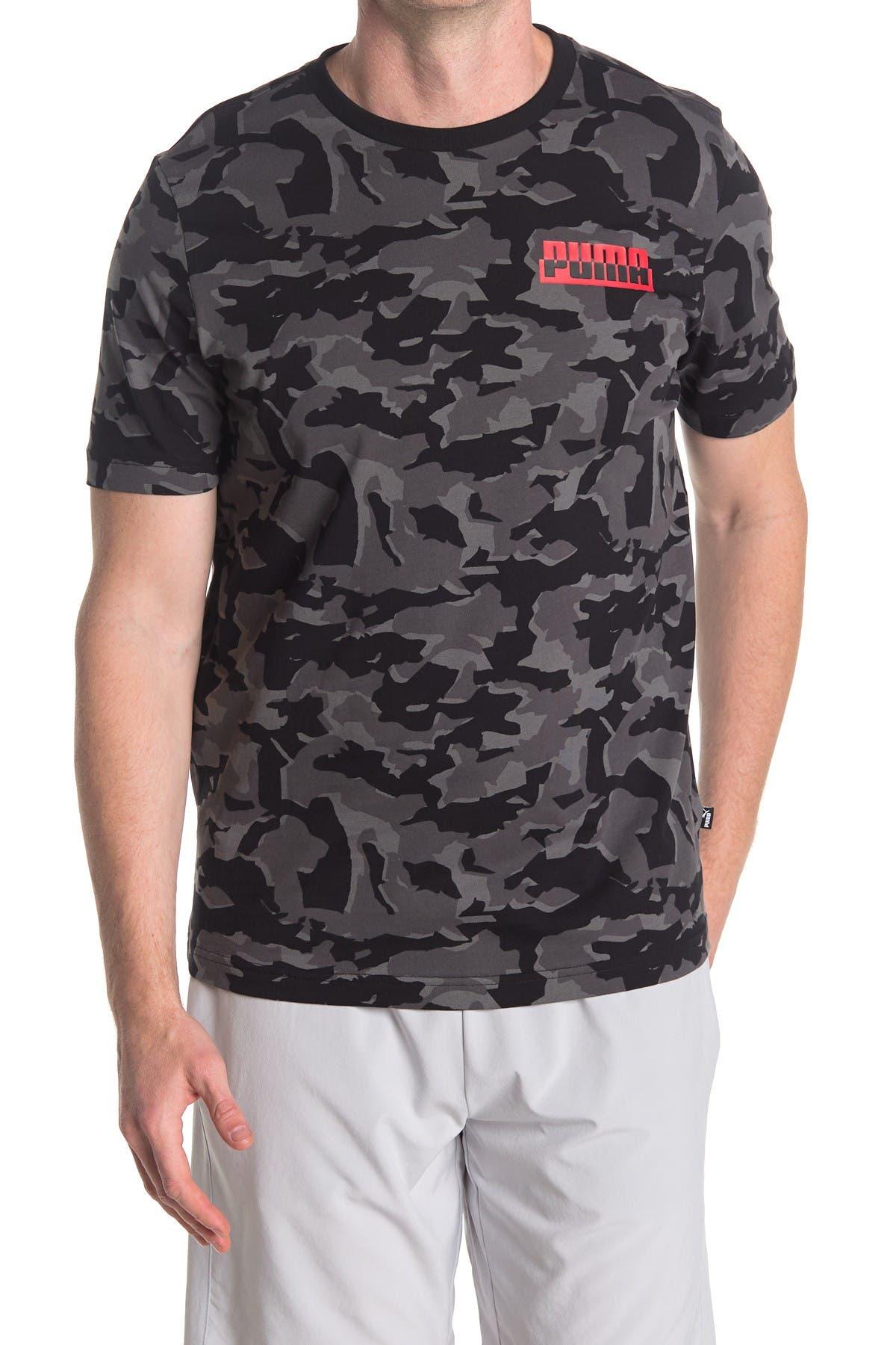 Image of PUMA Core Camo T-Shirt