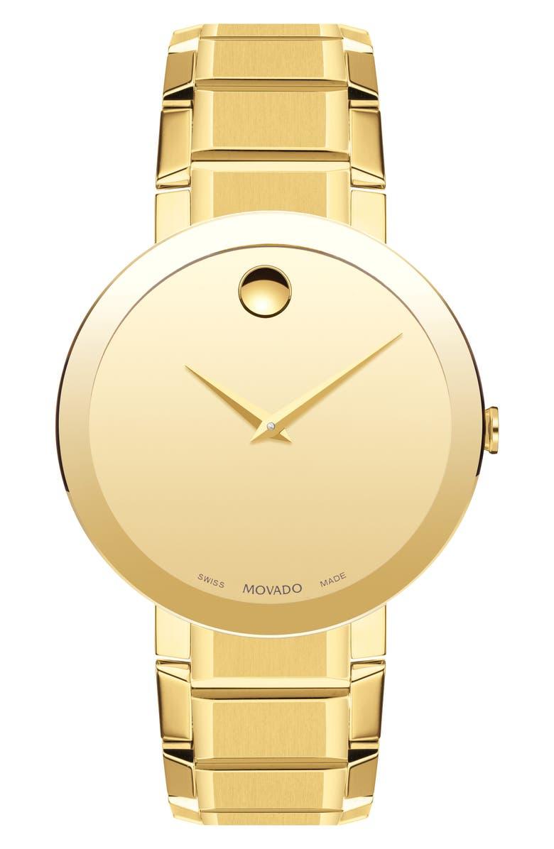 MOVADO Bold Sport Bracelet Watch, 39mm, Main, color, 710