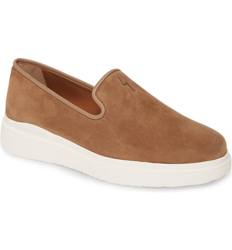 GIUSEPPE ZANOTTI Hybrid Loafer, Main, color, ALMOND