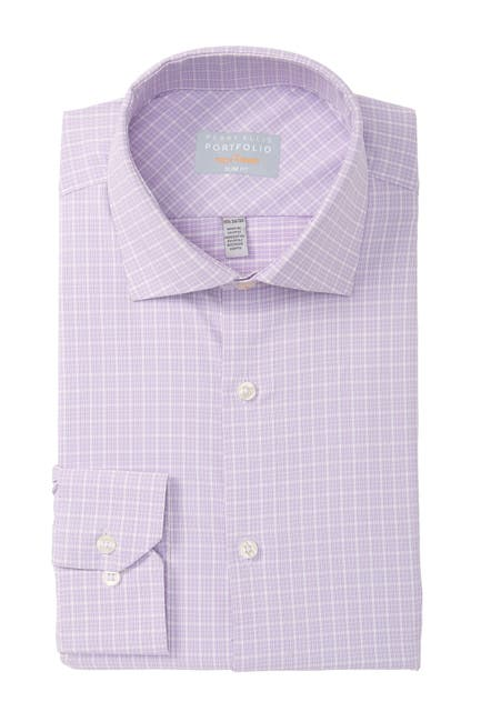 Image of Perry Ellis Slim Fit Tech Dress Shirt