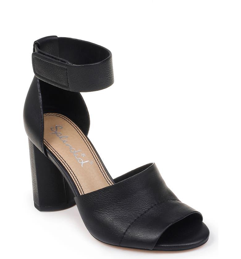 SPLENDID Thandie Ankle Strap Sandal, Main, color, 002