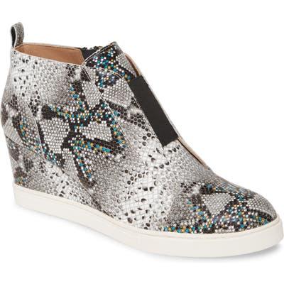 Linea Paolo Felicia Iii Wedge Sneaker, White