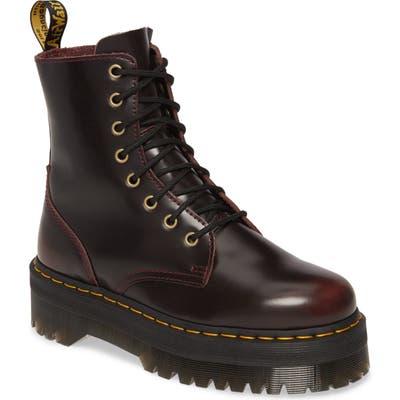 Dr. Martens Jadon Platform Boot, US/ 4UK - Red