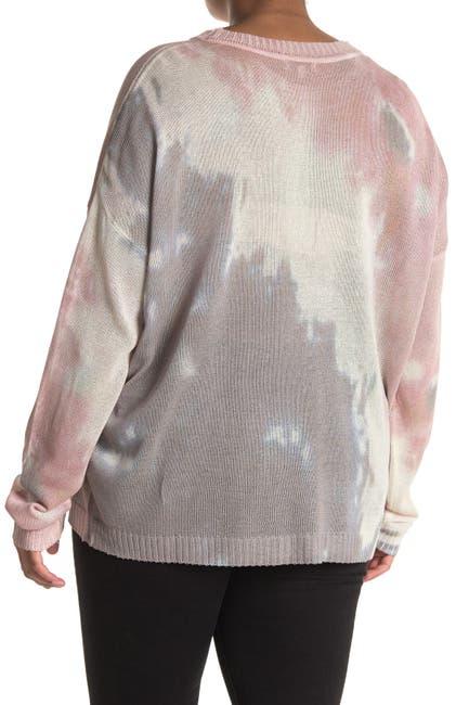 Image of Fate Tie-Dye Crew Neck Sweater