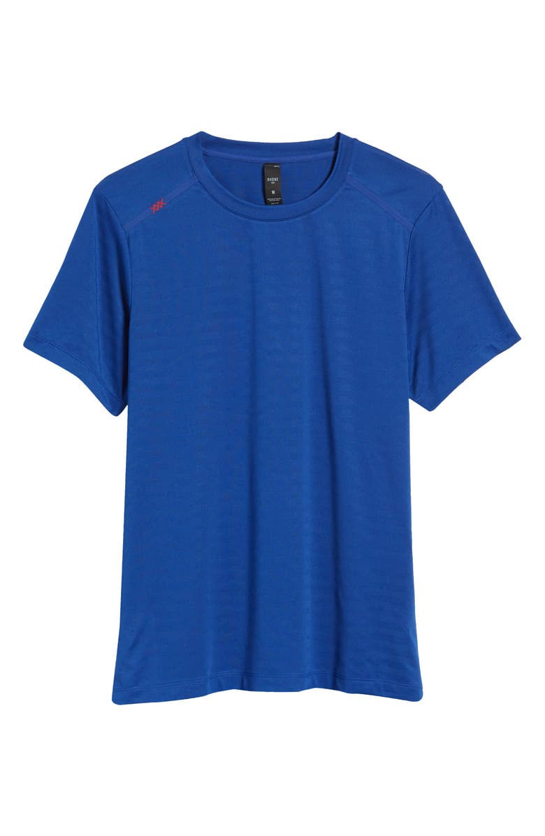 RHONE Novelty Run Performance T-Shirt, Main, color, MAZARINE